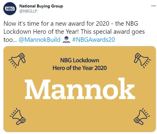 Lockdown Heroes Mannok NBG Award