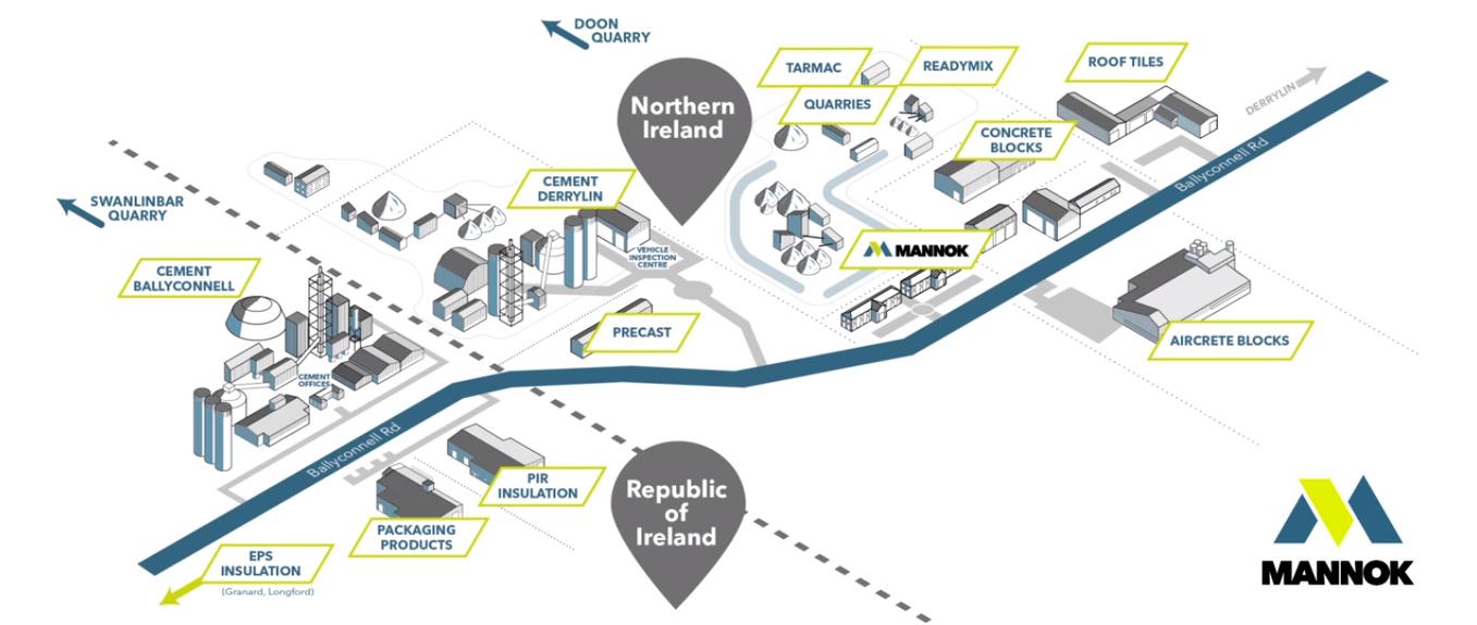 Mannok Company Map