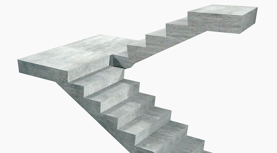 Stairs And Landings Precast Concrete From Mannok